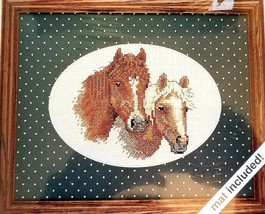 Stablemates Weekenders 03503 Counted Cross Stitch Kit Horses 7 x 5 inch - $12.99