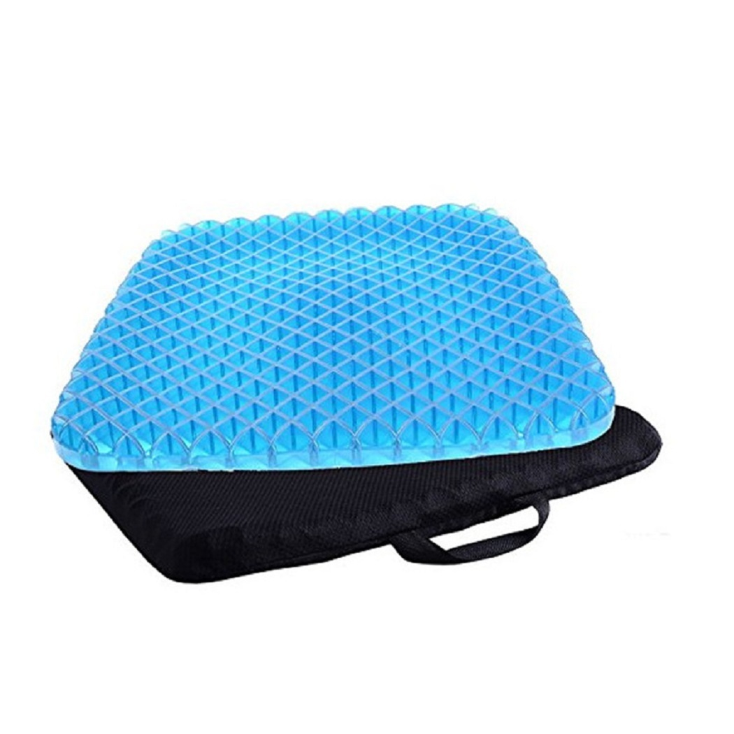 Gel Cushion Honeycomb Seat & Non-Slip Cover - Design Sitter Helps Pressure Point