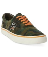 SIngle Left Shoe, Polo Ralph Lauren Men's Thorton Suede 1, Green 11.5 D - $9.45