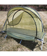Olive Drab Free Standing Military Mosquito Netting Tent for camping & ou... - $41.99