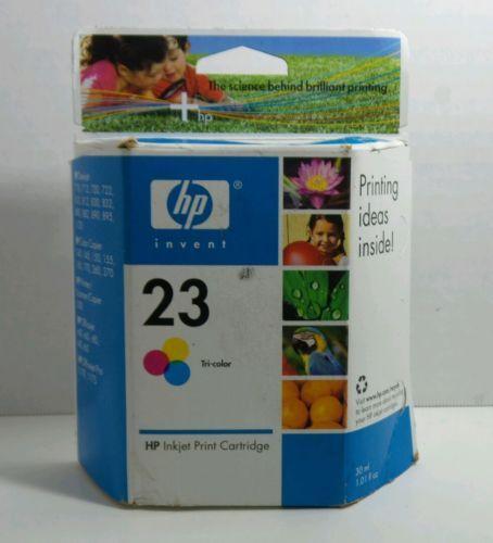 HP Inkjet Print Cartridge 23 Tri Color NIB 30ml Single Use