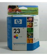 HP Inkjet Print Cartridge 23 Tri Color NIB 30ml Single Use - $7.83