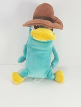 Disney Store Perry the Platypus Agent P Standing Brown Hat Plush  Phinea... - $9.89