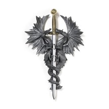 Bedroom Wall Decor, Dragon Dagger Living Room Decorative Hanging Home De... - $29.39