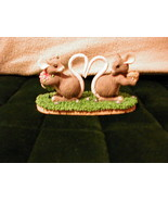 Charming Tails - LOVE MICE - OLD! RETIRED 1994 ! FREE Priority Ship ! - $32.96
