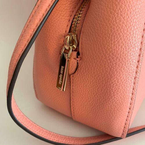 Kate Spade Talia Small Triple Compartment Leather Crossbody ~ Peachy Rose Bag image 4