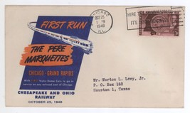 1st Run of The Pere Marquettes Chesapeake & Ohio Railroad 1948 Cover - $7.99