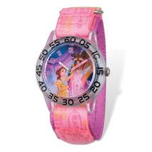 Disney Kids Beauty and the Beast Time Teacher Watch - $29.00
