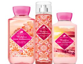 Bath & Body Works Portofino Pink Prosecco Trio Gift Set  - $45.95