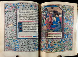 Book Of Hours, Use Of Troyes And Sens, 1470 Facsimile - $199.99