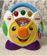 Fisher Price Nursery Rhymes CD Player - H6319, 3 Dancing Colored Lights ... - $17.82