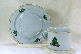 Tienshan Holiday Hostess Cup And Saucer Set - $2.07