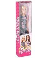 Barbie Pink-Tastic Doll, Floral Art On Black Dress - $9.90