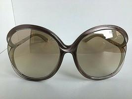 Tom Ford  59mm Beige Oversized Women's Sunglasses T1 - $117.99