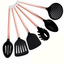 Cooking Utensils Set With Copper Handle, Stainless Steel Copper Plating ... - $32.99