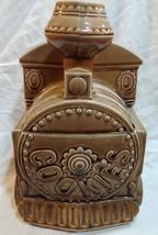 Rare Vtg Cookie Train Jar Ceramic Mid Century Engine - $90.94