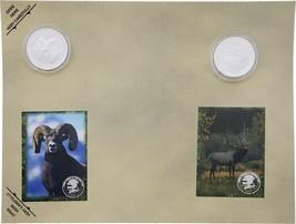 Collectible Coins Ram Elk    H1672S - $6.99