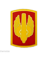 ARMY MILITARY CSIB 18TH FIRE BRIGADE COMBAT SERVICE IDENTIFICATION ID BADGE - $27.07