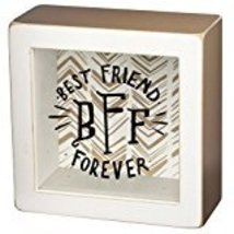 BFF Best Friends Forever Shadow Box Sign  - $14.99