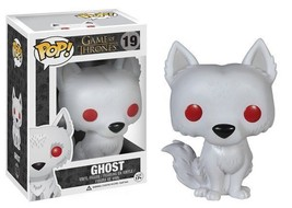 Game of Thrones TV Series Ghost Vinyl POP! Figure Toy #19 FUNKO NEW MIB - $12.55