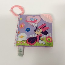 Toy Baby Toddler Play Soft Book Pages Minnie Mouse Infant Teether On-The... - $6.93