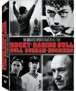 The Greatest Sports Film of All Time - Rocky/Raging Bull/Bull Durham/Hoo... - £9.29 GBP