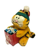 Vintage Garfield Holiday Shop Til You Drop Shopping Plush Stuffed Animal... - $39.99