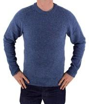NEW NWT LEVI'S MEN'S PREMIUM CLASSIC WOOL SWEATER MSRP:$98.00 BLUE 644590001