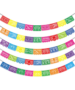 Mexican Party Banners - 5 Pack Fiesta Mexican Party Dia De Los Muertos Day of th - $35.52
