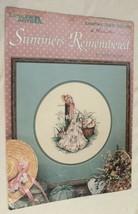 Leisure Arts Summers Remembered Cross Stitch Patterns  - $4.94