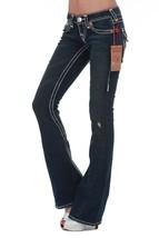 True Religion Women's Premium Denim Jeans Joey Super T EJD Dusty Skies 10503NBT2 image 2