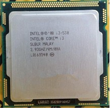 Intel Core i3-530 CPU 2.93 GHz Dual Core Processor 1333 MHz SLBLR Genuine Tested - $25.99