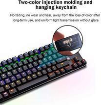 STOGA Mechanical Gaming Keyboard, Anti Ghosting USB Wired Gaming Keyboard with 8 image 3