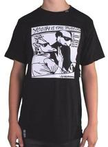 LRG Soulevé Recherche Groupe Homme Noir Jeunesse Est The Truth Slim Fit T-Shirt