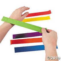 Bright Color Slap Bracelet Assortment - $27.11