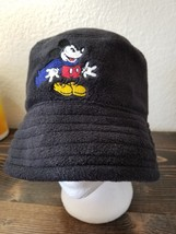 Vintage Goofy's Hat Co Mickey Mouse Hat Cap Disneyland Black Cloth - $28.60