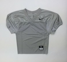 Nike Stock Core Football Training Jersey Boy's S M XXL Grey Mesh Practic... - $16.79