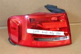 09-12 Audi A4 S4 RS4 4door Sedan Taillight Tail Light Lamp Driver Left LH