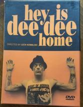 Hey Is Dee Dee (Ramones) Home. By Lech Kowalski DVD - $20.95