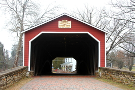 Kreidersville Covered Bridge 13 x 19 Unmatted Photograph - $35.00