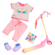 Our Generation Owl Be Cruisin' Scooter Deluxe Outfit - $35.80