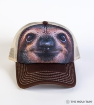 SLOTH FACE TRUCKER HAT THE MOUNTAIN - $22.20