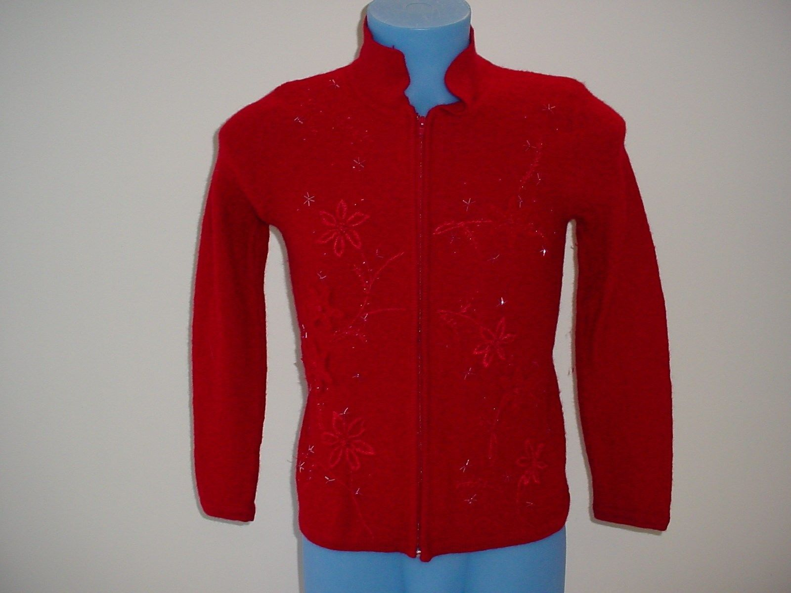 3dfac548b8a Dress Barn Ugly Christmas Sweater Zip Up and 50 similar items. 57