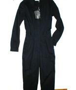 New Designer Richard Nicoll Jumpsuit 40 Womens 4 Navy Blue Long Sleeves ... - $524.00