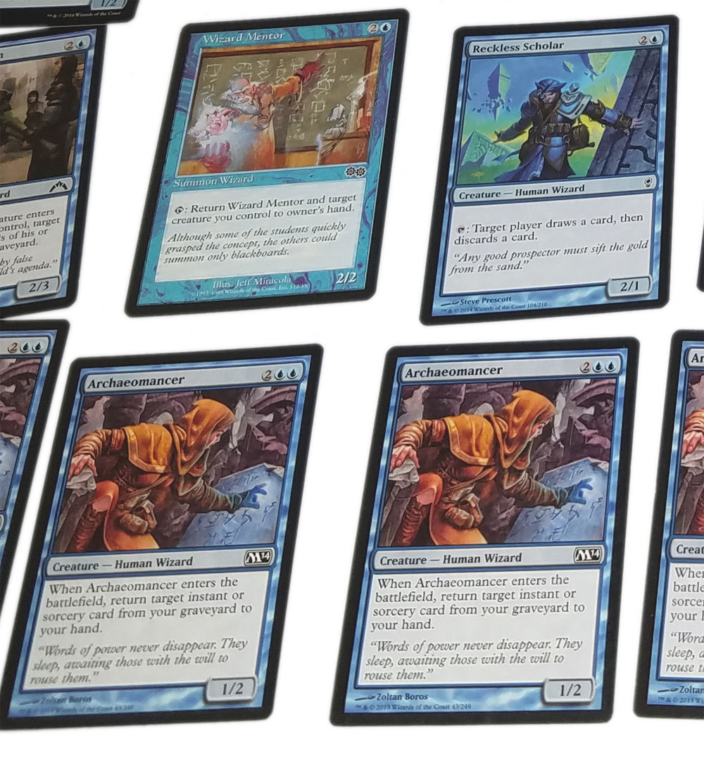 Magic the Gathering MTG Blue Mono Color Mill / Discard (66) Card Starter Deck
