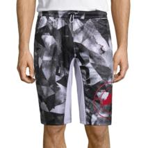 Ecko Unltd Pull-On Shorts Size S New White Multi - $18.99