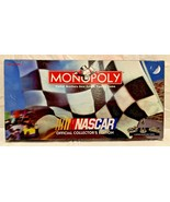 NASCAR Monopoly Board Game Collectors Edition 1997 Complete W/ Instructions - $12.86