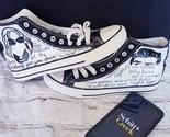Schitt's Creek painted shoes - £28.68 GBP - £54.18 GBP