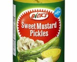 Bick's Sweet Mustard Pickles Jar 6 x 500ml Canadian Fast Shipping
