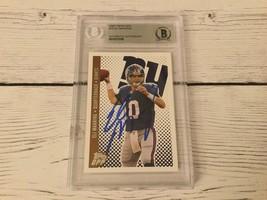 Eli Manning Signed Autographed 2006 Topps Dpp Card Ny Giants Beckett Bas Coa A - $98.99